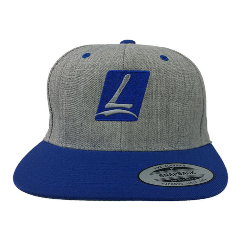 Logo Snapback Heather/Royal