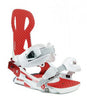 Launch TM Beyond Series Snowboard Binding White/Red