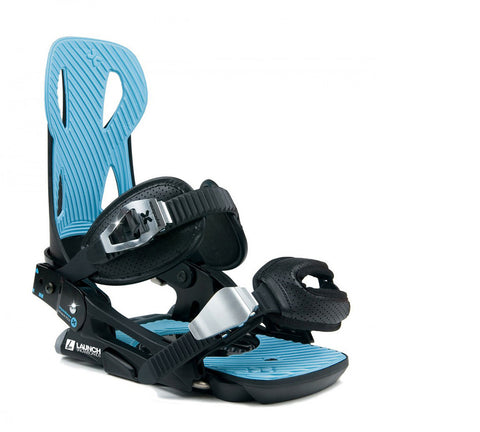 Launch TM Beyond Series Snowboard Binding Black/Blue