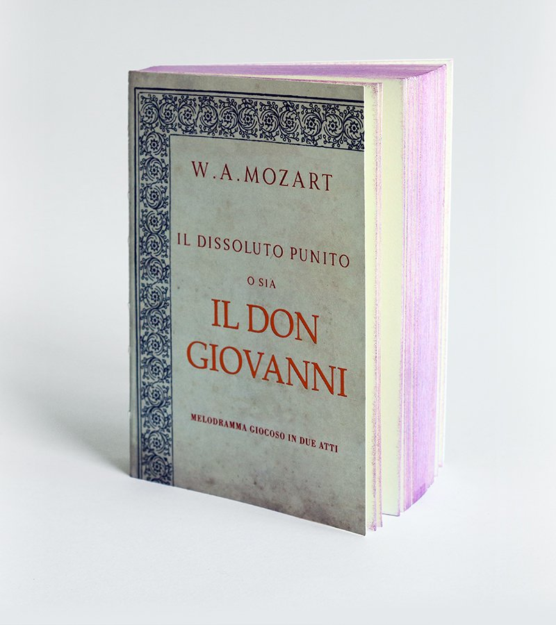 Don Giovanni Opera Notebook