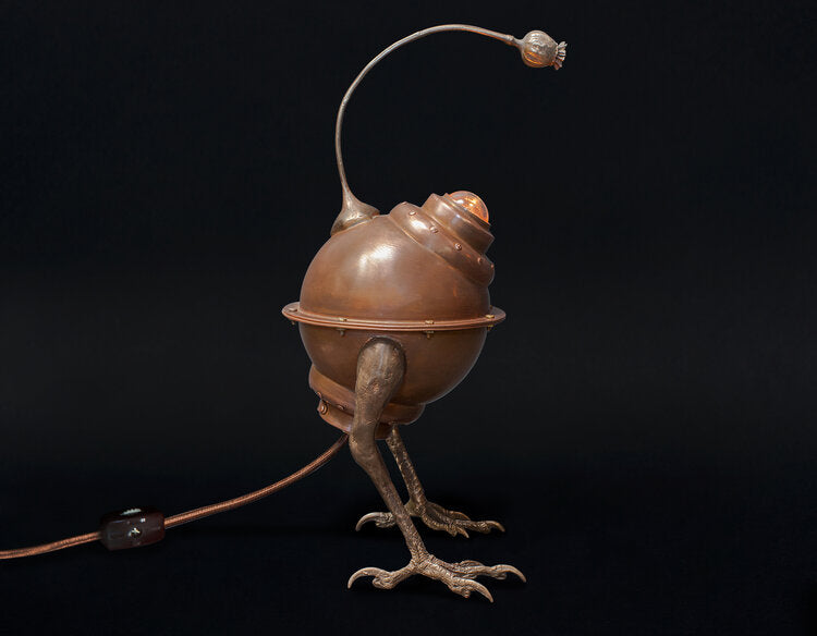 Opium Gazer Copper Lamp by Evan Chambers