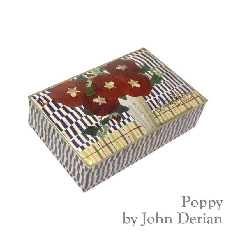 John Derian Poppy 12 piece Truffle Assortment by Louis Sherry