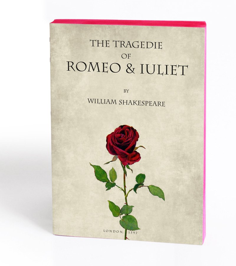 Romeo & Juliet Notebook