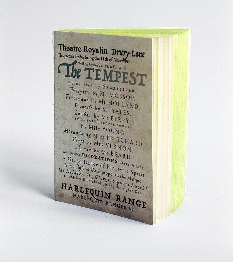 The Tempest Opera Notebook