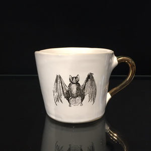 Bat Cup by Kuhn Keramik