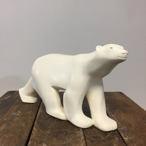 Polar Bear Sculpture by Francois Pompon