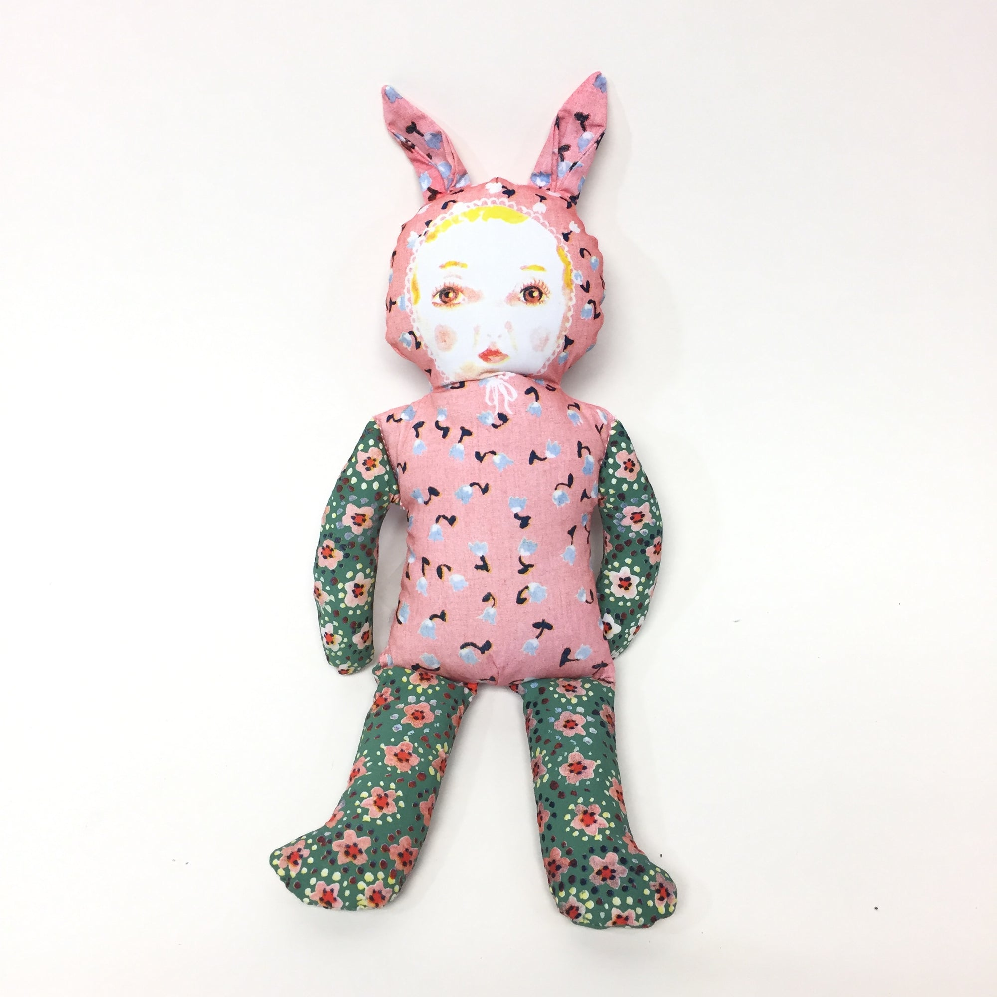 Pink Bunny Doll by Nathalie Lete