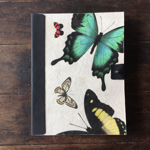 Handmade Paper Butterfly Journal