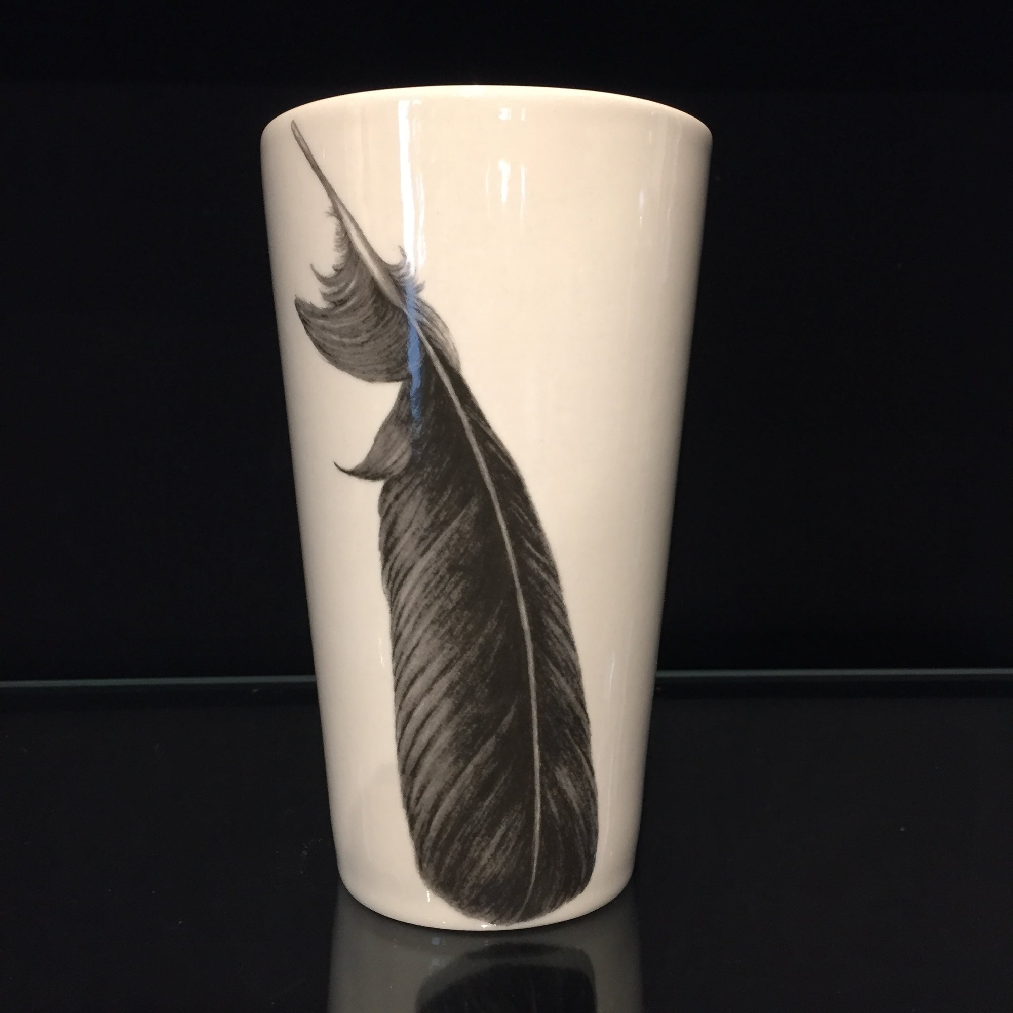 Crow Feather Tumbler