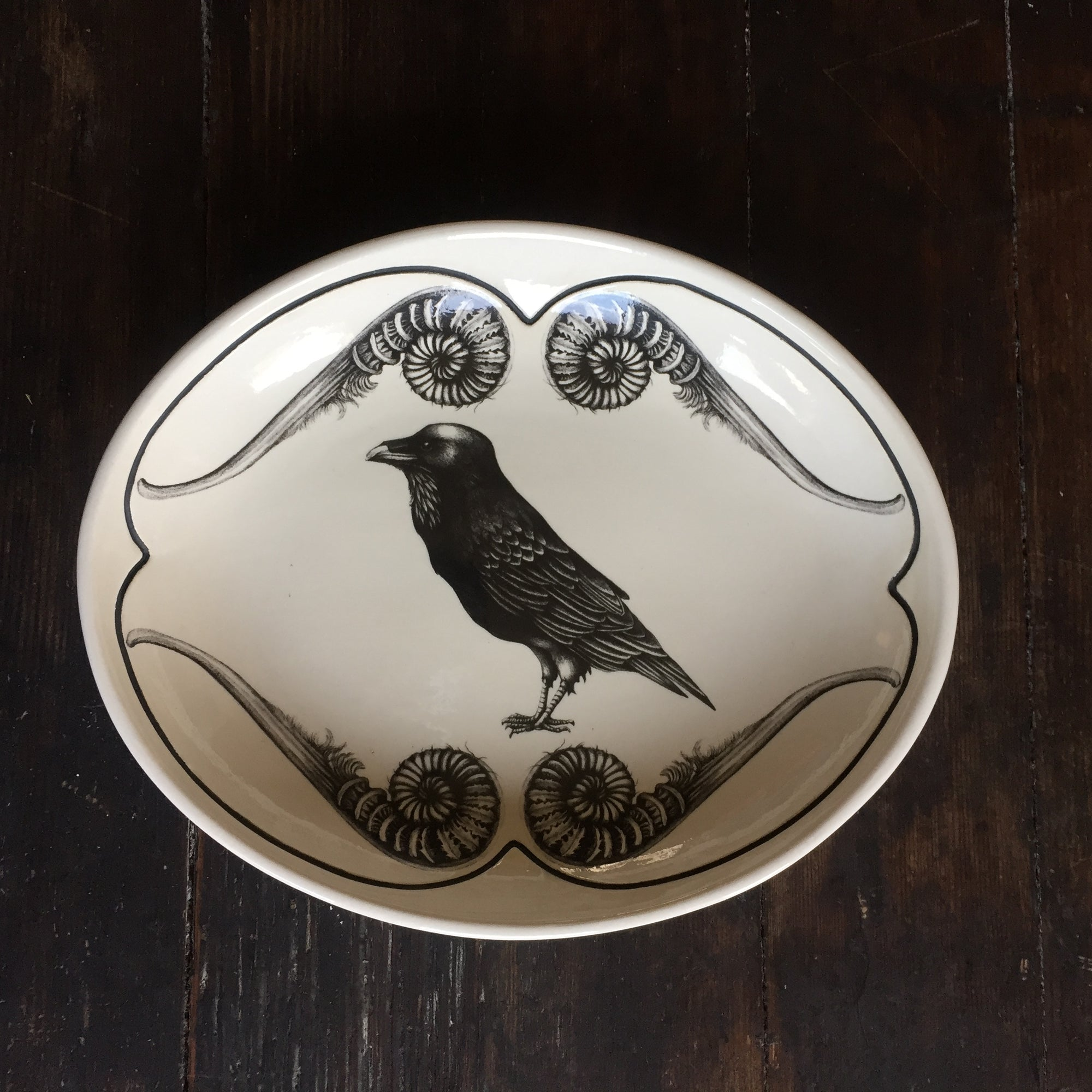Raven Small Serving Dish