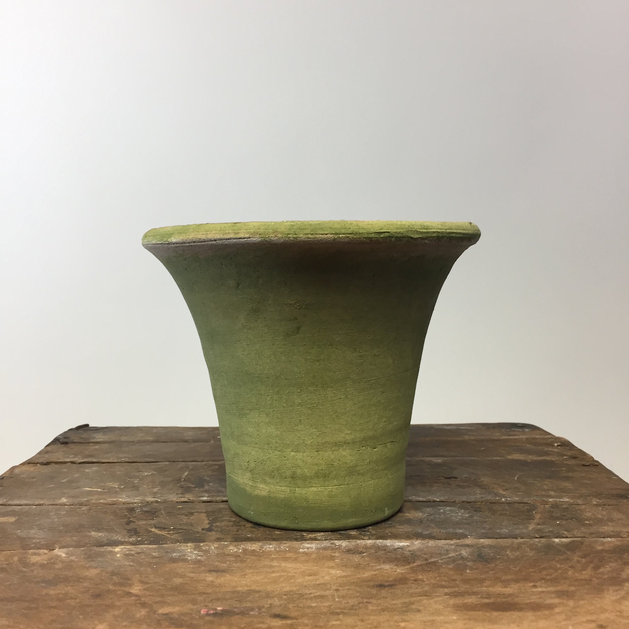 English Aged Terracotta Pot. Small