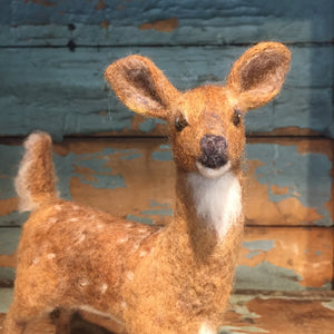 Felted Wool Fawn