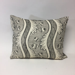 "Antoinette Poisson Grenades 2B Pillow 14"" x 18"""