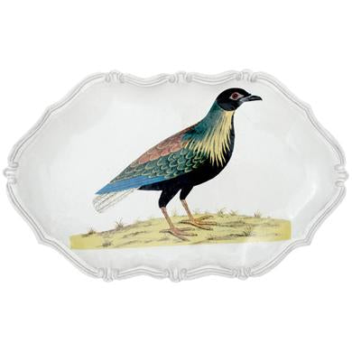 John Derian Right Cock Pigeon Platter
