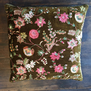 Madame Bovary Olive Pillow