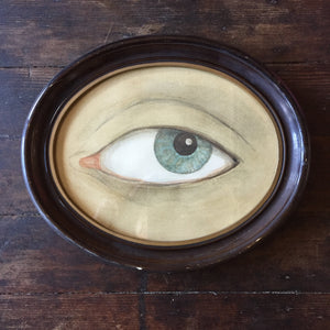 Oval Eye Giclee By Mary Maguire