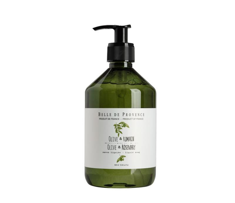 Olive Oil and Rosemary Liquid Soap