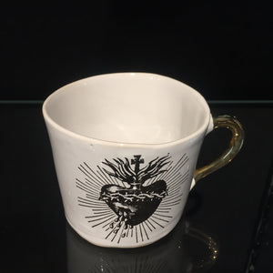 Sacred Heart Medium Cup by Kuhn Keramik