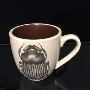 Scarab Beetle Mug by Laura Zindel