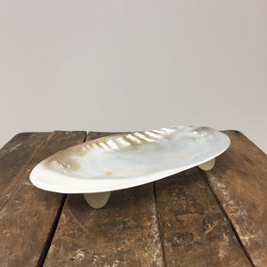 Silver Clam Plate