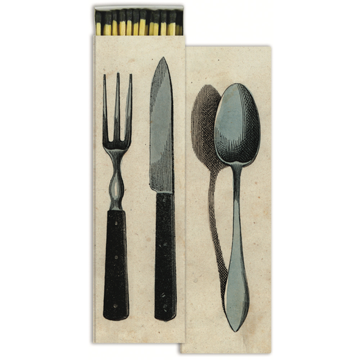 Silverware Matches by John Derian