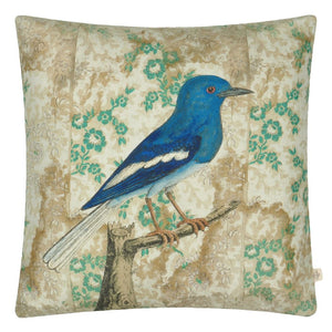 Wallpaper Decorative Bird Pillow by John Derian