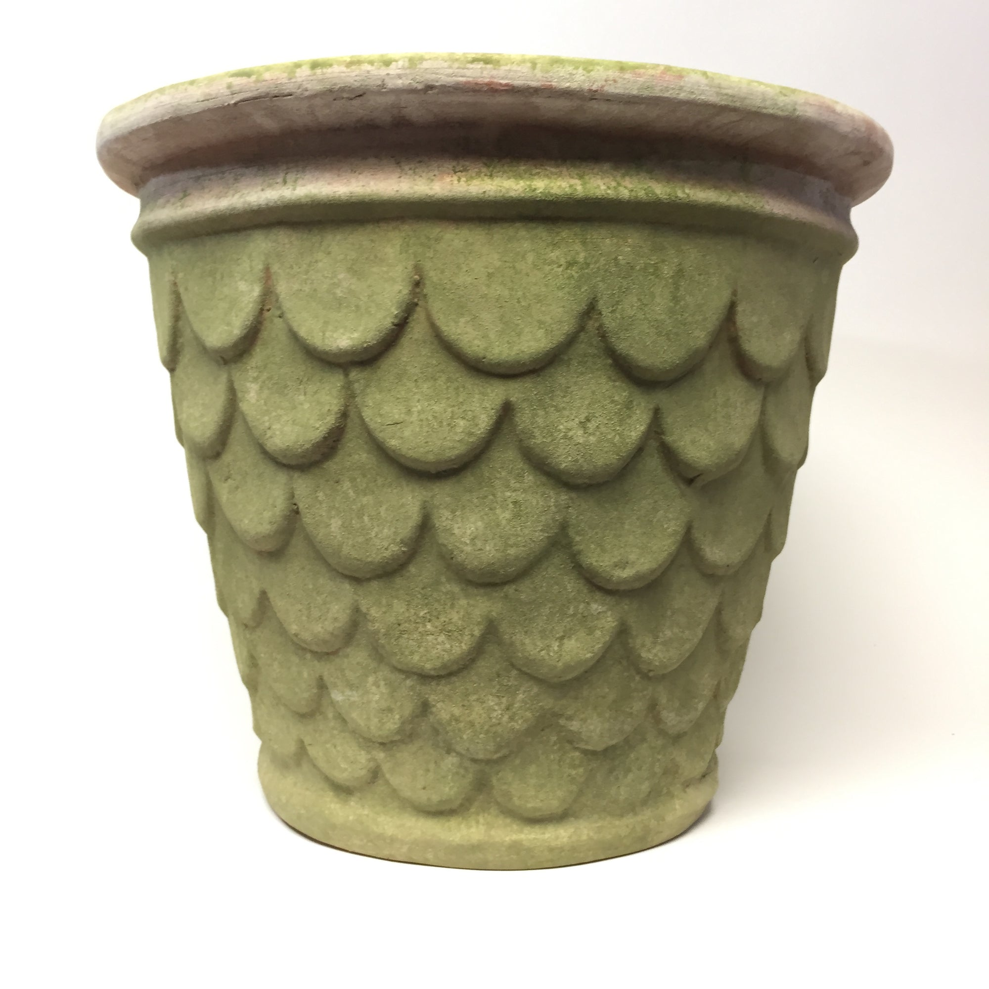 Dragonscale  X Large Terracotta Planter