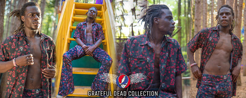 Grateful Dead Mens Clothing