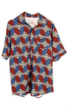 Americana Grateful Dead Dress Shirt - Warrior Within Designs ,Shirt