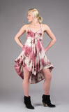 Rose Crush Pocket Dress - Warrior Within Designs ,Dress