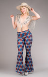 Grateful Dead Slim Bells - Americana - Jammin Warrior Collective - Warrior Within Designs ,Pants