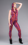 Paisley Punch Huntress Ladyhawke Onesie