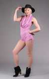 Pink Suede Firebird Shortsie - Warrior Within Designs ,Shortsie