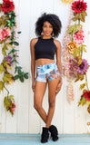 Swallow Tail Cowgirl Shorts