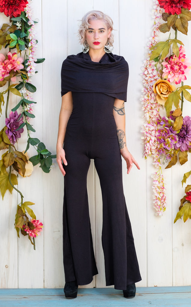 25% Off - Black Bamboo Huntress Flow Pant Onesie