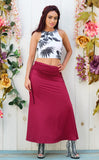 Cherry Kodiak Maxi Skirt / Dress