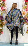 Grateful Dead VELVET Kimono - Dancing Skeletons - Jammin Warrior Collective