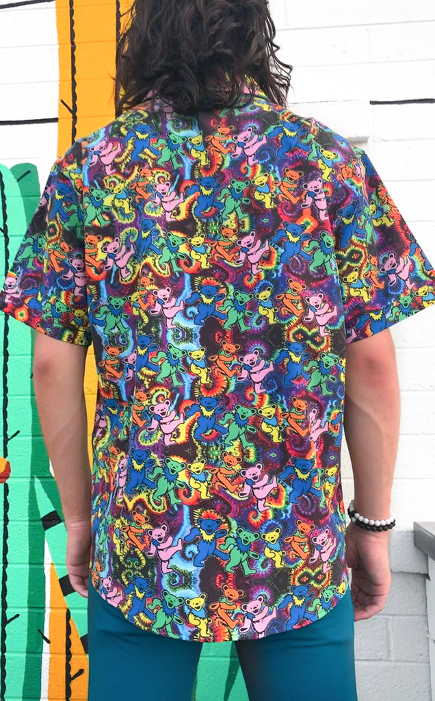 Dancing Bears Grateful Dead Dress Shirt