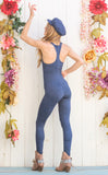 30% Off - Prussian Blue Panther Ladyhawke Onesie
