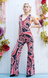 Queen of Hearts Paisley Hunter Onesie