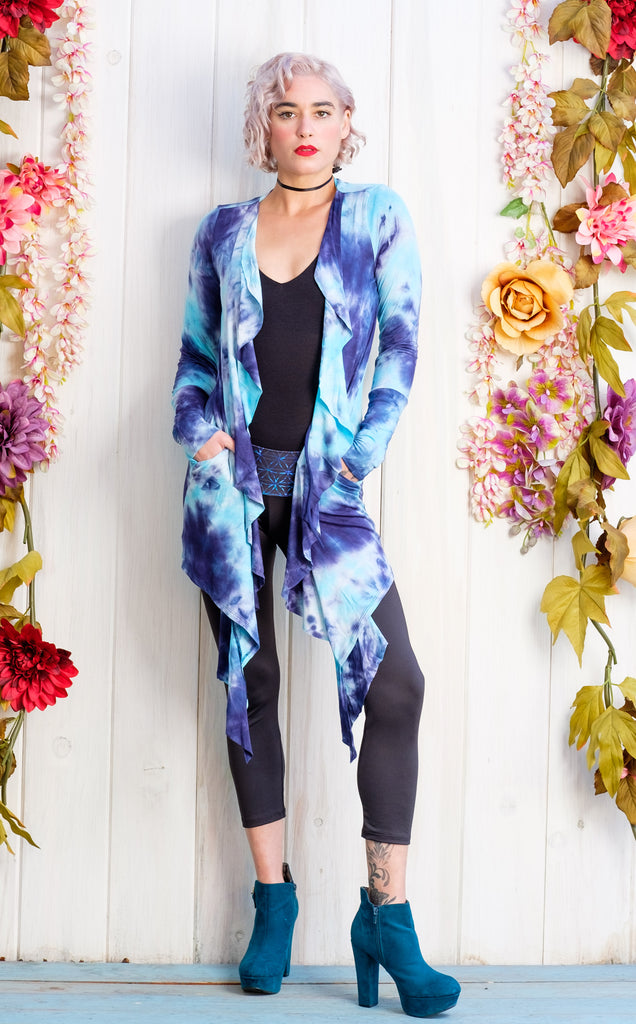 30% Off - Sky Crush Waterfall Cardigan