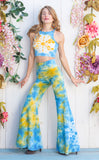 20% Off - Tie Dye High Waist Big Bell Pants