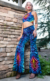 Tie Dye High Waist Big Bell Pants