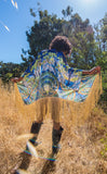 Worlds of Growth Velvet Kimono x Sweet Melis -