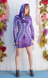 Tie Dye Long Sleeved Huntress Cinch Dress