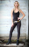 Midnight Burnout Velvet Panther Ladyhawke Onesie