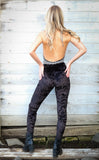 Black Velvet Ladyhawke Leggings