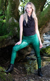 50% Off - Shamrock Fractal Ladyhawke Leggings