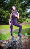 Purple Bamboo Huntress Ladyhawke Onesie