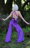 20% Off - Crush Velvet Tigra Jumpsuit - 2 Colors